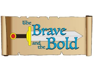 Brave & the Bold SCROLL Logo